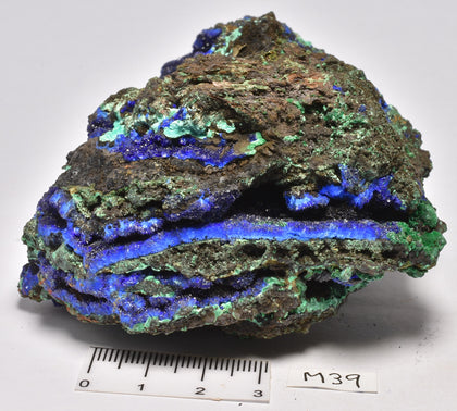 MALACHITE & AZURITE in natural form, from China M39