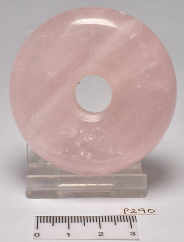 ROSE QUARTZ POLISHED DONUT P290