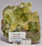 PREHNITE Polished Slice 325 grams, Wave Hill, N.T AUSTRALIA S795