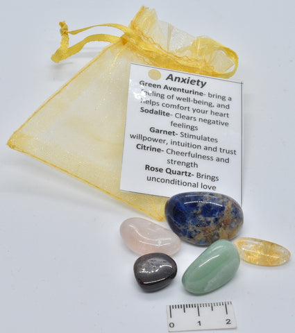 ANXIETY CRYSTAL TUMBLE KIT P821