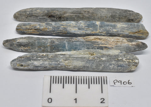 4 x KYANITE RODS IN NATURAL FORM P906