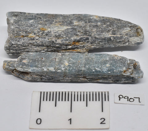 2x KYANITE RODS IN NATURAL FORM P907