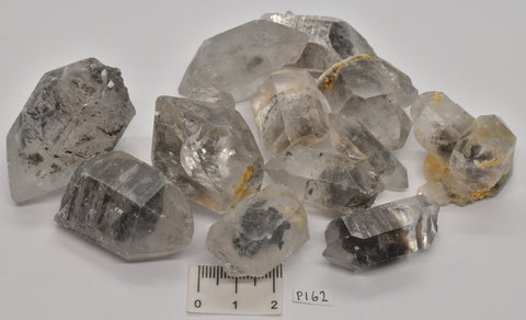 12 x TIBETAN QUARTZ POINTS P162