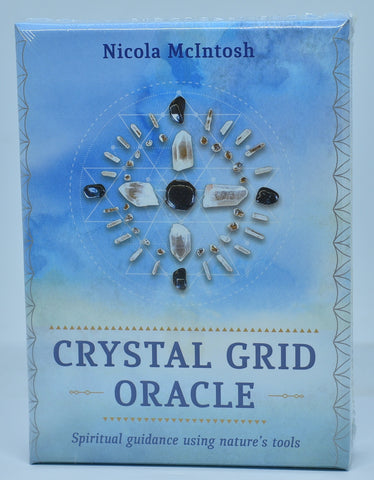 CRYSTAL GRID ORACLE, SPIRITUAL GUIDANCE USING NATURES TOOLS B02