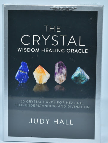 THE CRYSTAL WISDOM HEALING ORACLE By Judy Hall B04