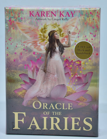 ORACLE OF THE FAIRIES 44 Deck of cards by Karen Kay B06