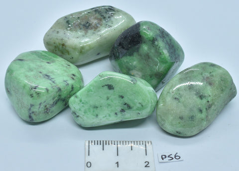 GARNET CRYSTAL TUMBLES, SOUTH AFRICA 100g 5 pieces P56