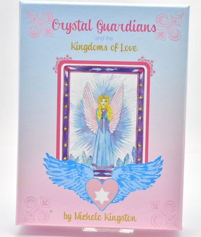 CRYSTAL GUARDIANS and KINGDOMS OF LOVE By Michelle Kingston B11