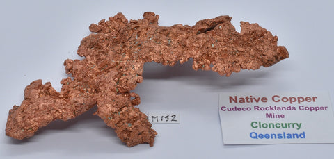 NATIVE COPPER, CLONCURRY, QUEENSLAND, AUSTRALIA M152