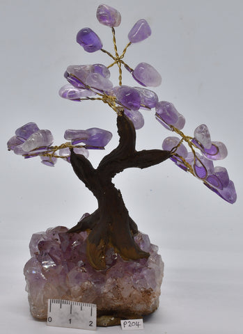 AMETHYST CRYSTAL TREE P204