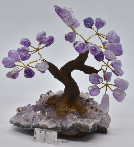 AMETHYST CRYSTAL TREE P208