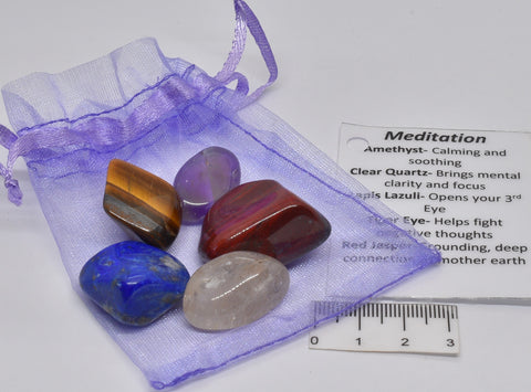 MEDITATION CRYSTAL TUMBLE KIT P911