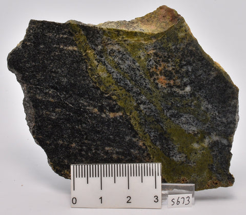 METEORITE IMPACT MELT, Idiwhaa Tonalitic Gneiss, Oldest Rock In the World S673