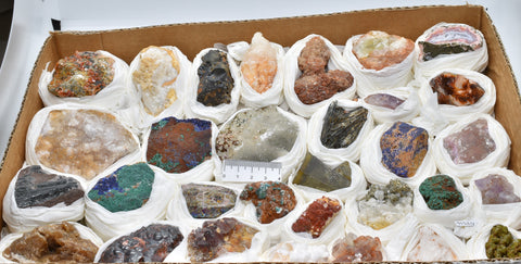 MINERAL ROCKS CRYSTAL COLLECTION M364