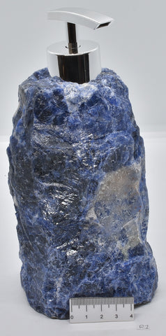 SODALITE IN NATURAL FORM SOAP DISPENSER 1.5 kilos R1