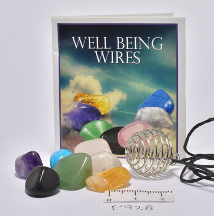 WELLBEING CRYSTAL TUMBLE KIT 7 CRYSTALS P900
