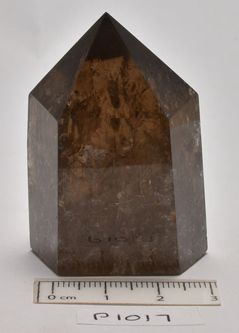SMOKEY QUARTZ CRYSTAL POINT/ GENERATOR 4.5 CM (P1017)