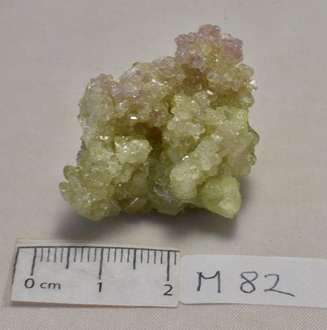Vesuvianite, Jeffrey Mine, Quebec CANADA (M82)