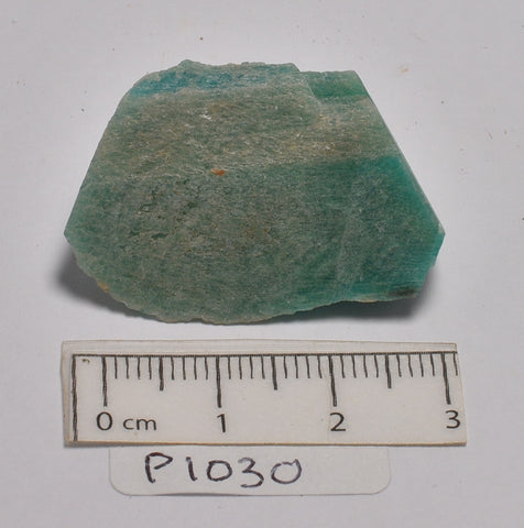 AMAZONITE IN NATURAL FORM (P1030)