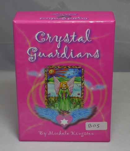 CRYSTAL GUARDIANS ORACLE CARDS by Michelle Kingston (B05)
