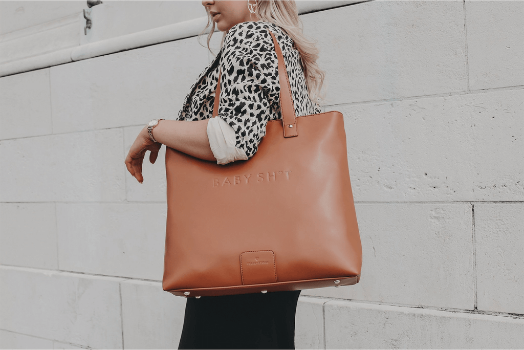 TOBY Baby Bag in Tan - FELIX + STONE