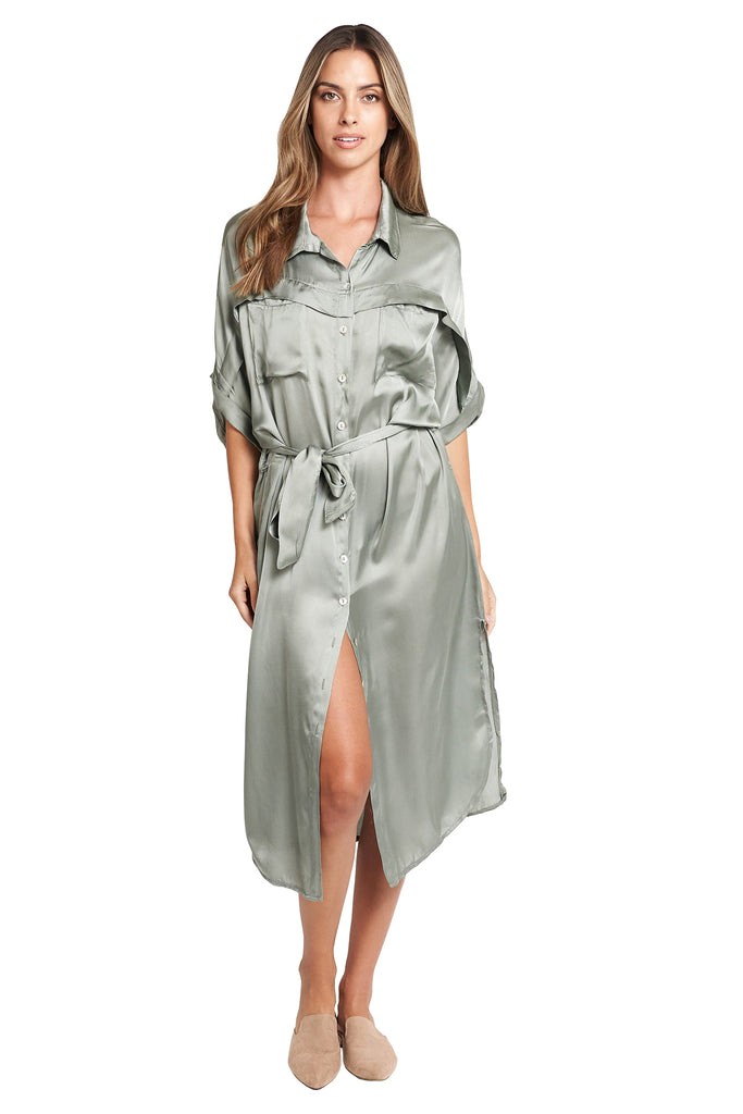Paola Shirt Midi Dress