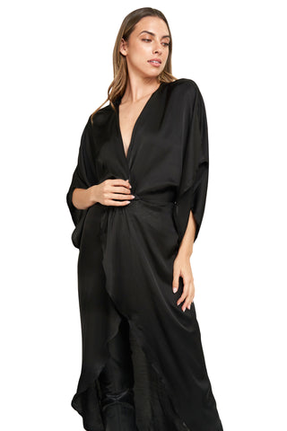 MELANIA BLACK TUNIC