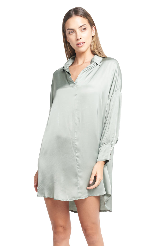 TESA SATIN TUNIC