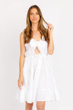 RAY WHITE LINEN DRESS
