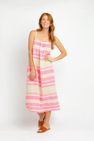 CAIDEN MAXI IN HOT PINK