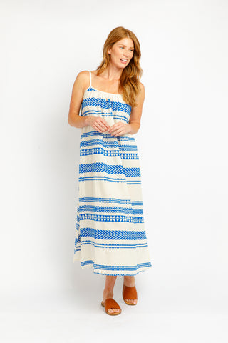 CAIDEN MAXI IN ROYAL BLUE