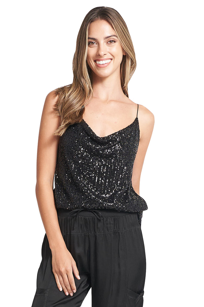 TINA  SEQUINS TOP