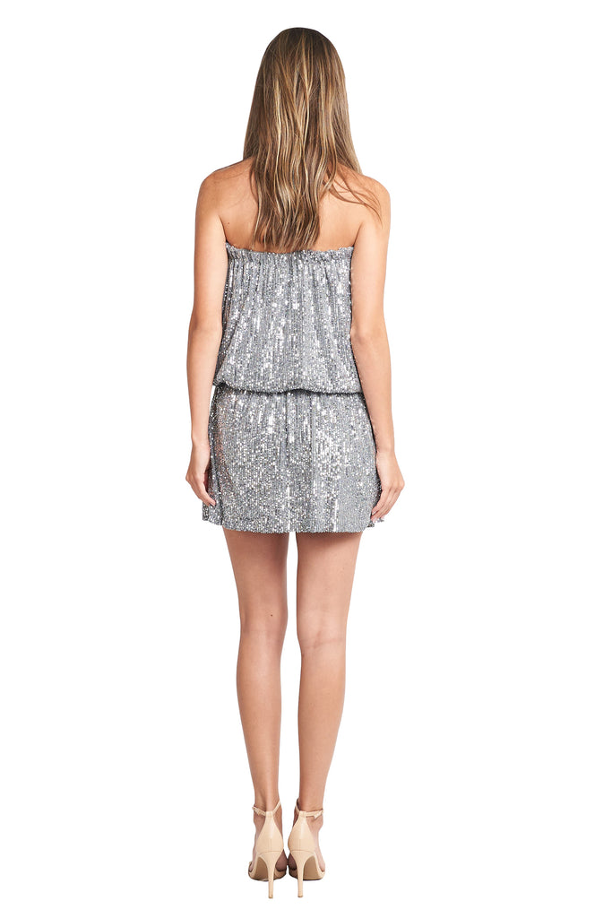 ELEANOR GREY SEQUINS DRESS