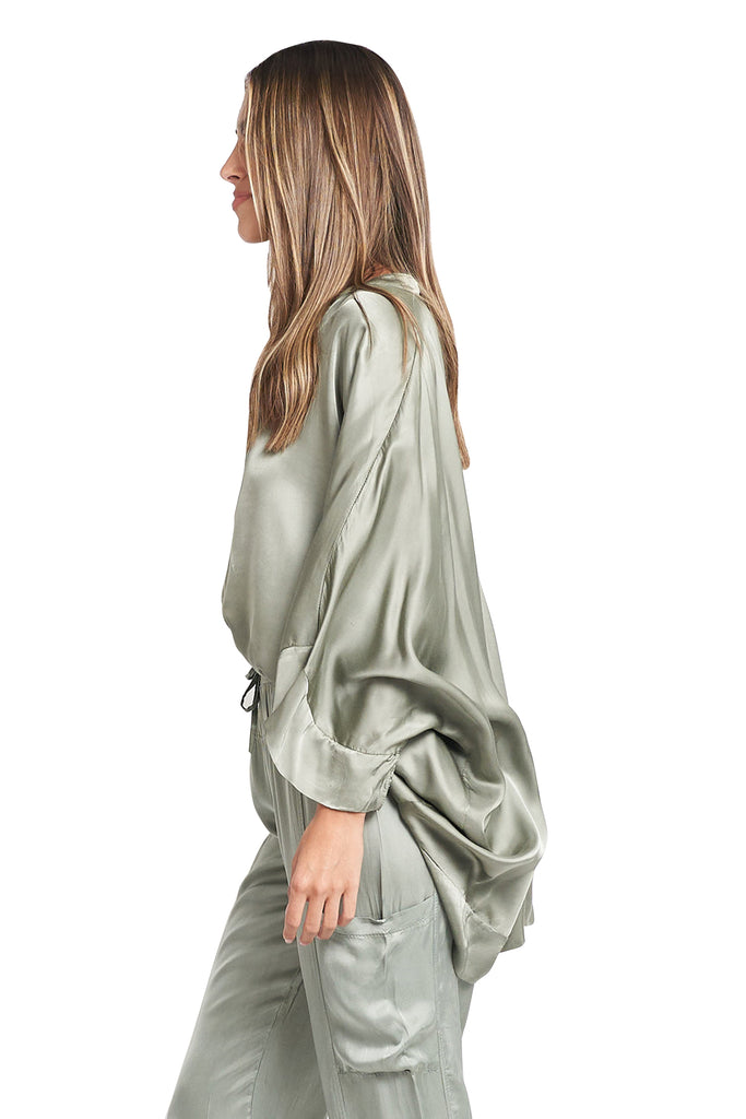 LUCIANA  MILITARY BLOUSE
