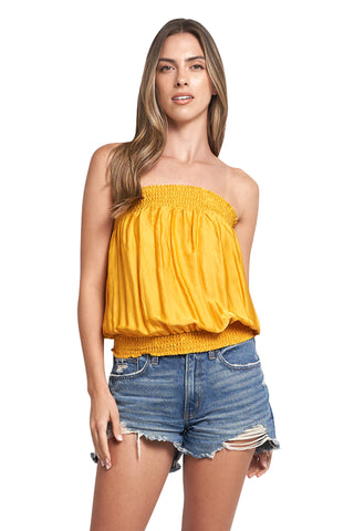 CANDY MUSTARD TUBE TOP