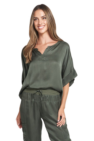 YASSY OLIVE TOP