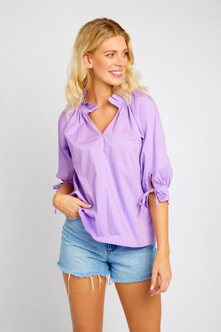 ELOISE LILAC TOP