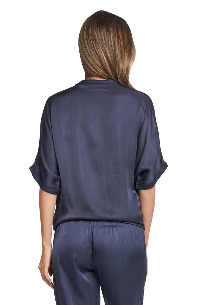 JANE NAVY TOP
