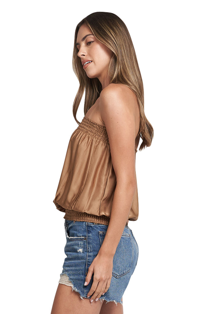 CANDY BRONZE TUBE TOP