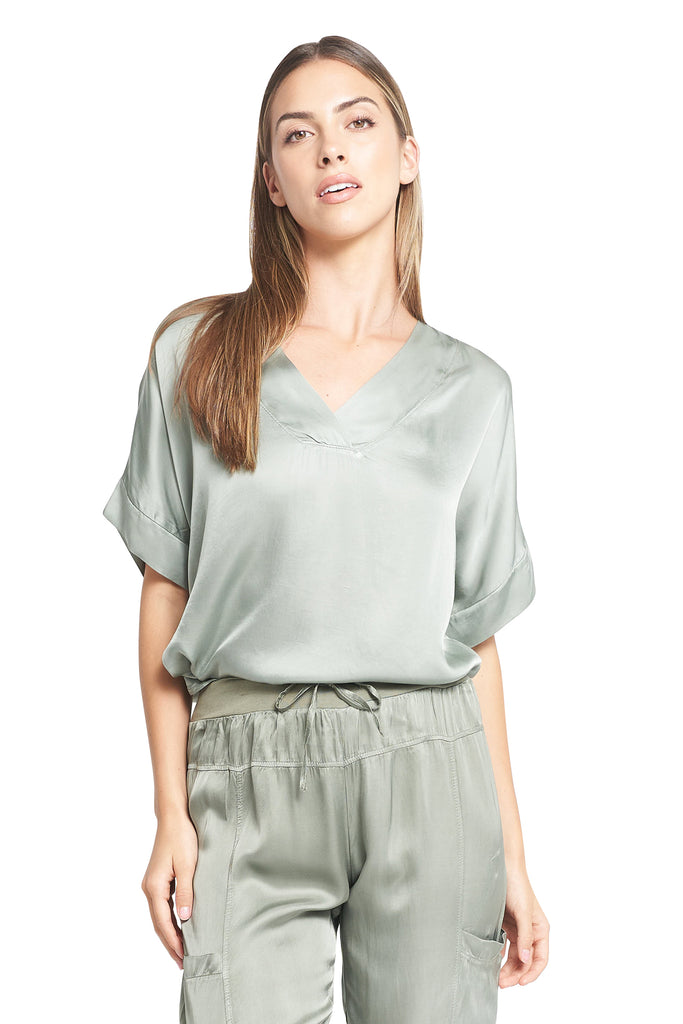 MARCELA MILITARY TOP