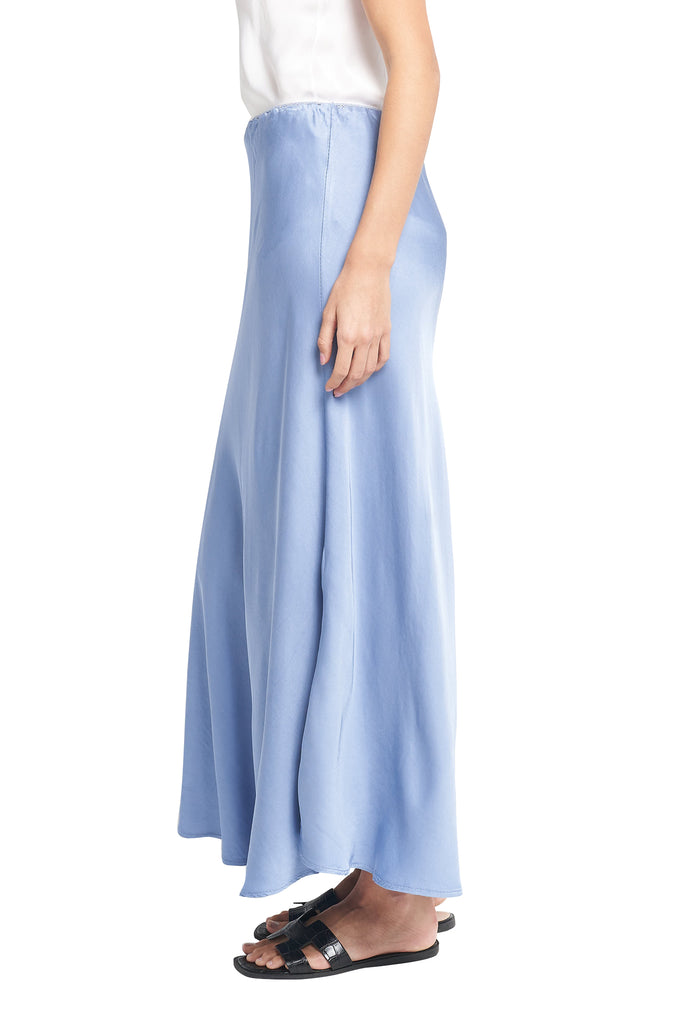 BRODY FRENCH BLUE PENCIL MAXI SKIRT/ DRESS