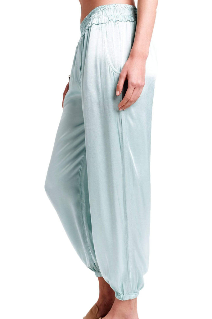 shop-sofia Brooke Pants Sofia Collections Italian Silk Linen Satin