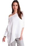 shop-sofia Florence Washed Pull Over Sofia Collections Italian Silk Linen Satin