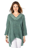 shop-sofia Holly  Tunic Sofia Collections Italian Silk Linen Satin