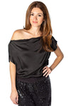 shop-sofia Lenny  Top Sofia Collections Italian Silk Linen Satin