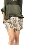 shop-sofia Sam  Shorts Sofia Collections Italian Silk Linen Satin