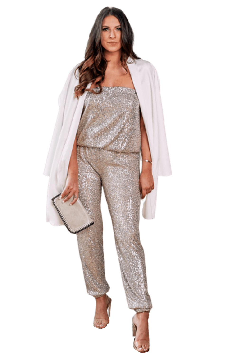 shop-sofia Medium Sofia Jumpsuit Sofia Collections Italian Silk Linen Satin