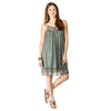 shop-sofia Sofia Olive Dress Sofia Collections Italian Silk Linen Satin