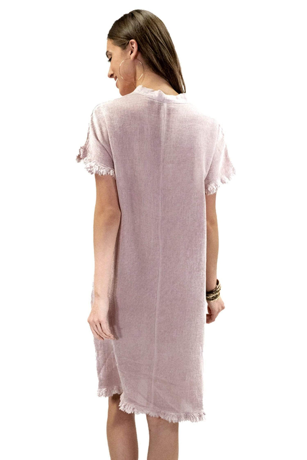 shop-sofia Tania Dress Sofia Collections Italian Silk Linen Satin