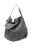 shop-sofia Taupe Body Bag Sofia Collections Italian Silk Linen Satin